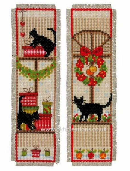 Christmas Atmosphere Bookmarks Cross Stitch Kit